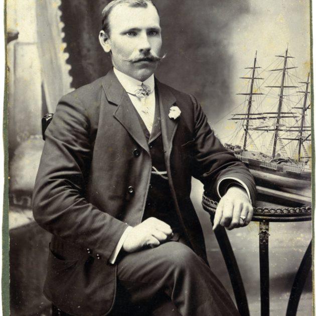 Ainažu jūrskolas absolvents Andrejs Paegļkalns (1881. – 1954.)
