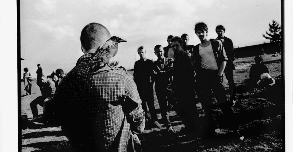 """A. Liepiņš, """"Daugavpils speciālās skolas skolēni"""", 1989. gads"""