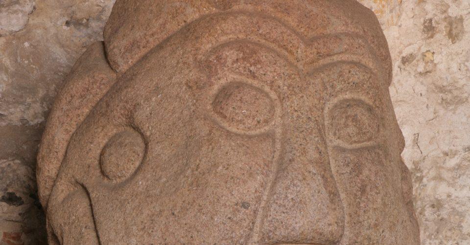 Salaspils akmens galva – varbūtējais lībiešu elktēls