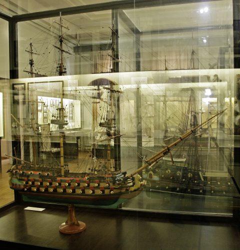 """Ekspozīcija """"Latvijas kuģniecības vēsture"""""""