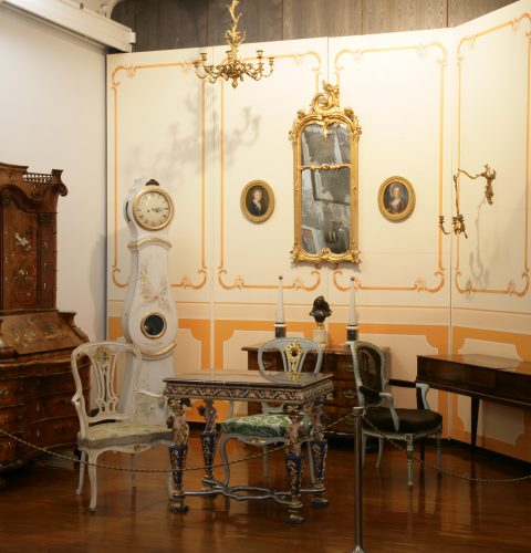 The Rococo Room – reconstruction of the early 20th century exhibition of the Dom Museum