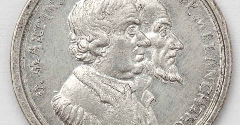Augsburgas konfesijas 200 gadu jubilejas medaļa. Averss. Vācija, Nirnberga, medaļu meistars D.Z. Doklers jun., 1730. g. Sudrabs.
