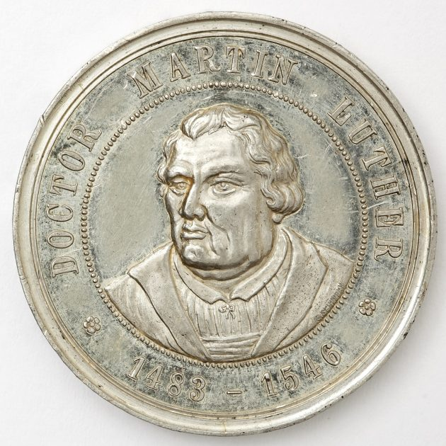 500 years of the Reformation: Commemorative medals in the collection of the Museum of the History of Riga and Navigation