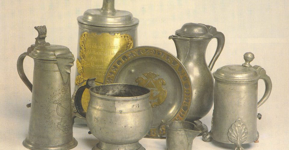 Rīgas alvas lējēju cunftes meistaru izstrādājumi, 17. gs. – 19. gs. vidus