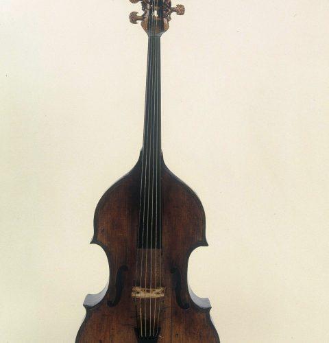 Tenora viola da gamba. Itālija, meistars Caneto no Brešas, 1693. g.