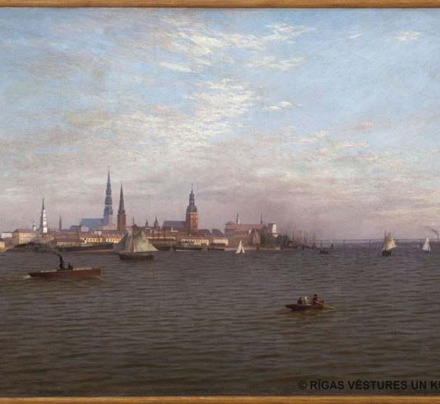 Views of Riga in the Museum's Collection of Paintings