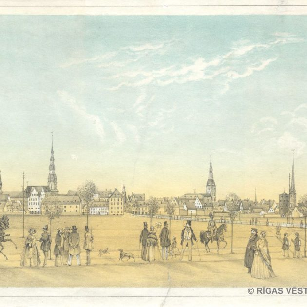 Views of Riga in the Museum Graphics Collection